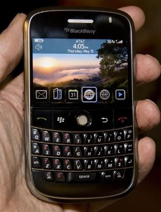Picture of BlackBerry Bold 9000 Phone, Black (AT&T)